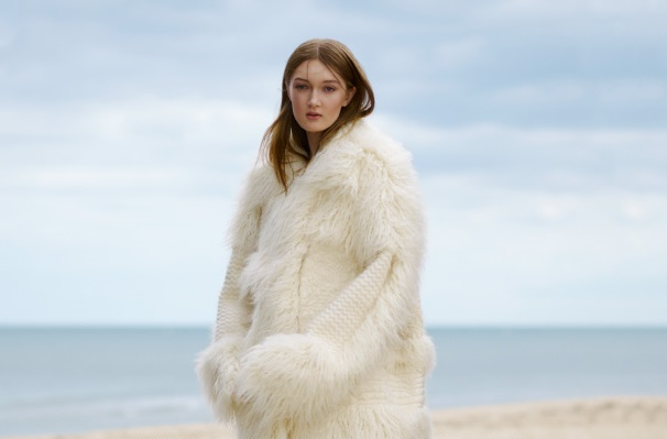 Stella McCartney Ramona faux fur coat