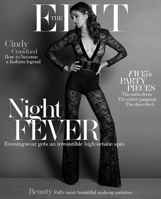 Still Super: Cindy Crawford for The EDIT