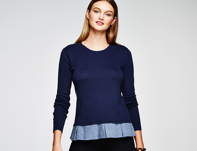 Sweater Weather Modern Knits at MYHABIT