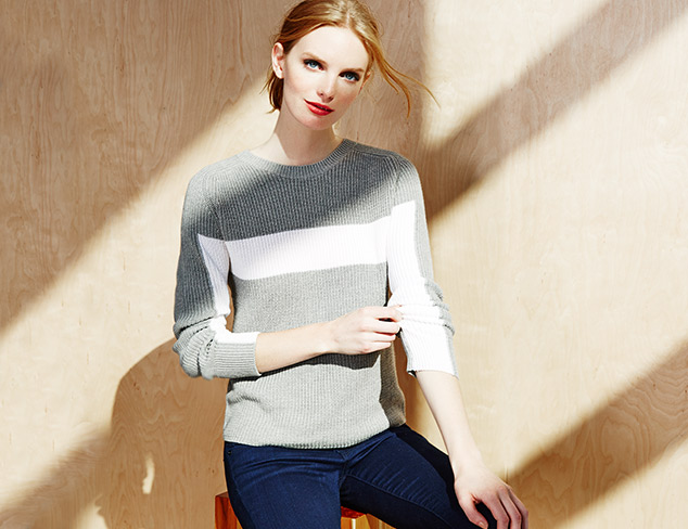 The Contemporary Report Sweaters at MYHABIT