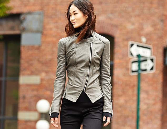 The Leather Jacket at MYHABIT