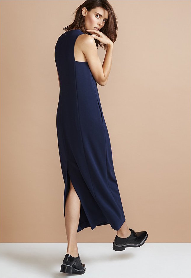 Theory Admiral Crepe Frashil Dress