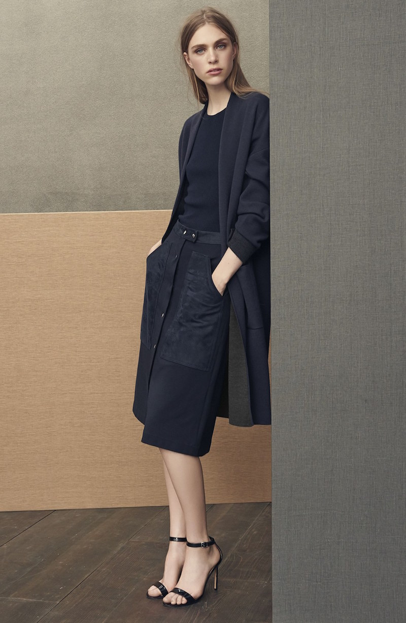 Theory Armelle Wool Cardigan Coat
