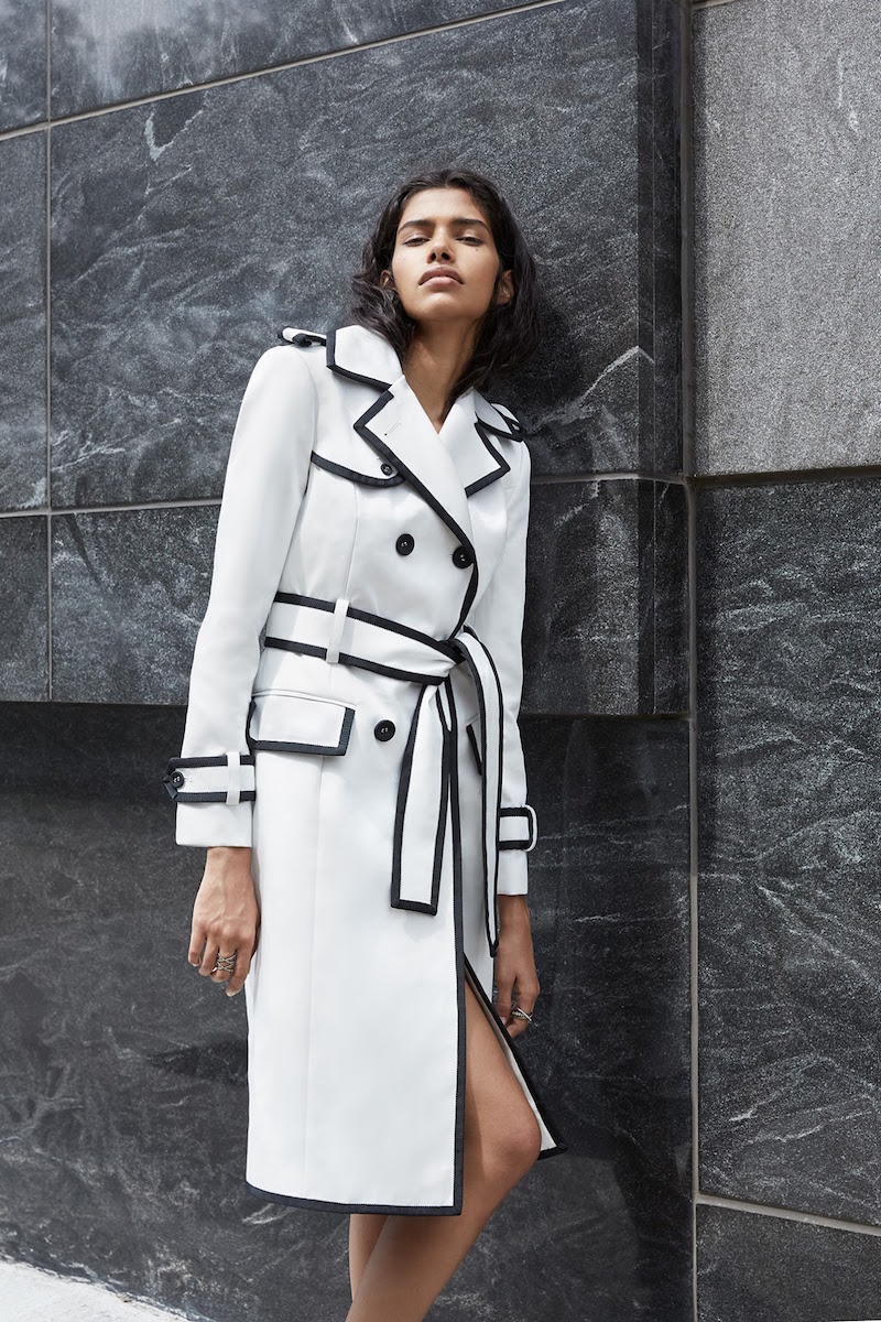 Thom Browne Grosgrain-Trimmed Gabardine Trench Coat