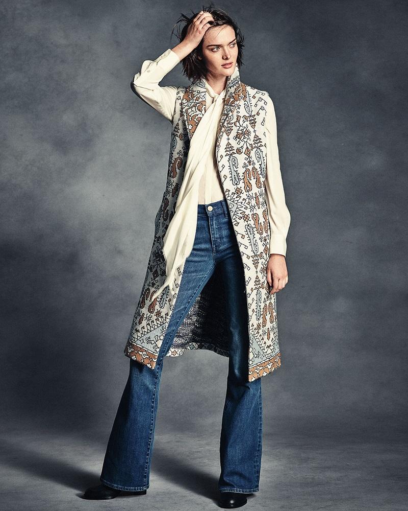 Tory Burch High-Waist Flare Jeans