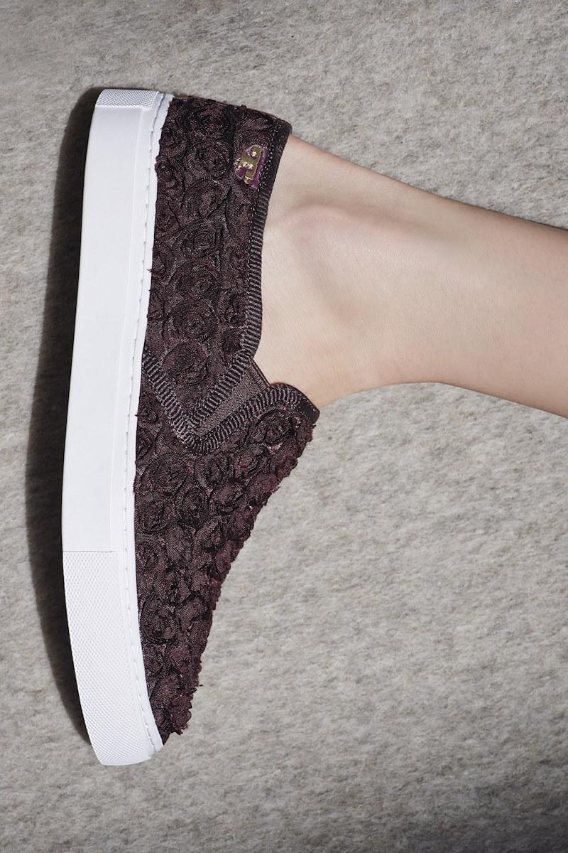 Tory Burch Rosette Slip-On Sneaker