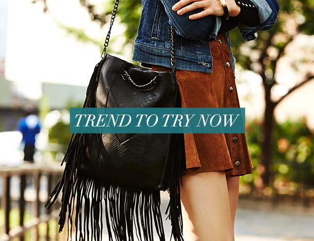 Trend to Try Now Fringe Benefits at MYHABIT