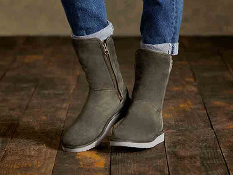 UGG Australia Abree Short Suede Boot_1
