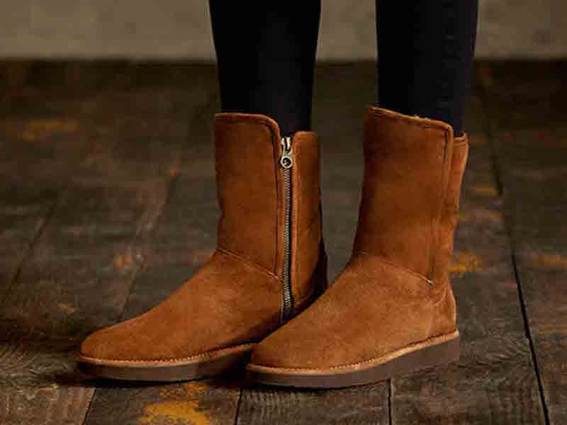 UGG Australia Abree Short Suede Boot_5