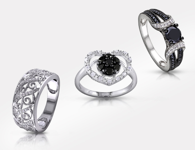 Up to 80 Off Black & White Diamond Jewelry at MYHABIT