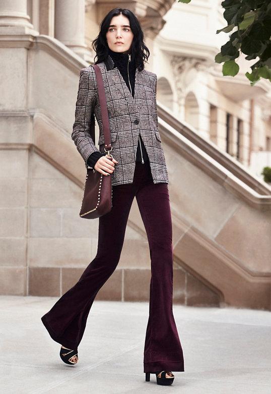 Veronica Beard Plaid Dickey Jacket