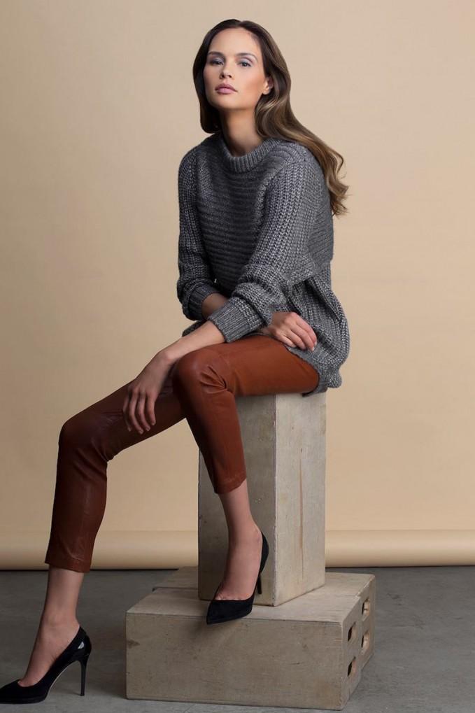 mason by michelle mason Double Layer Sweater Dress