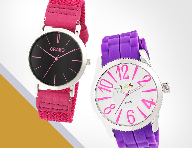 $19 & Up Crayo Watches at MYHABIT