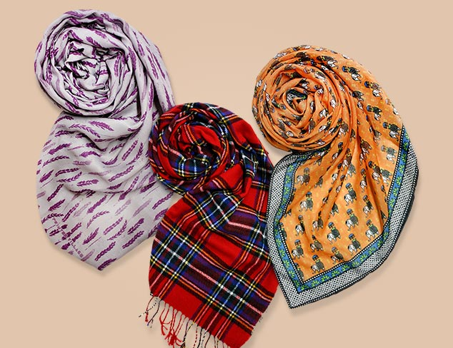 $20 & Under Scarves feat. Printed Village at MYHABIT