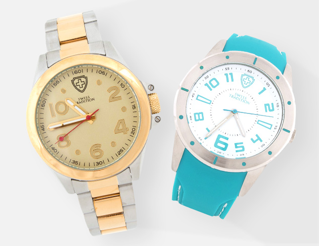 70 Off Swiss Tradition Watches at MYHABIT