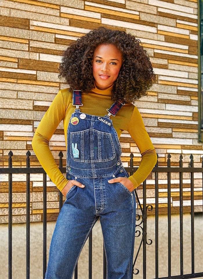 ASOS Magazine October 2015 Cover Girl Serayah McNeill_1