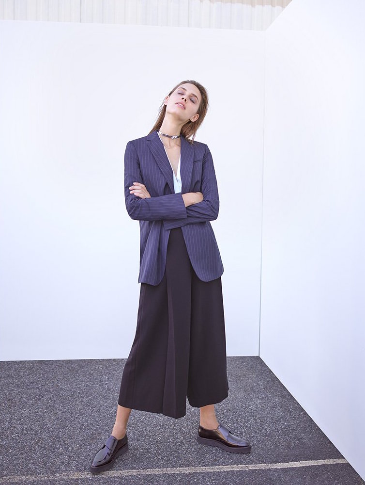 Alexander Wang Wide Leg Pants with Belt