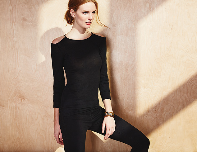 All Black, All the Time Dresses & Separates at MYHABIT