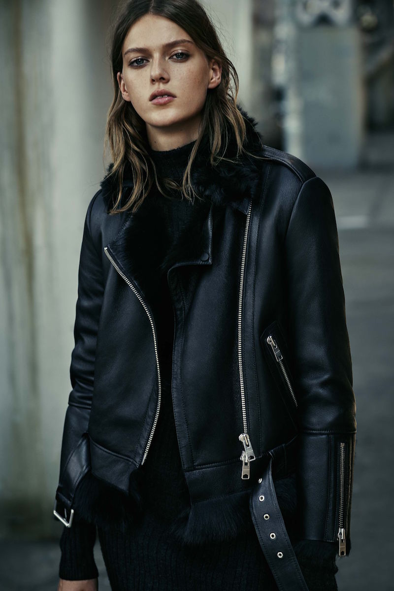 AllSaints Emerson Leather Biker Jacket