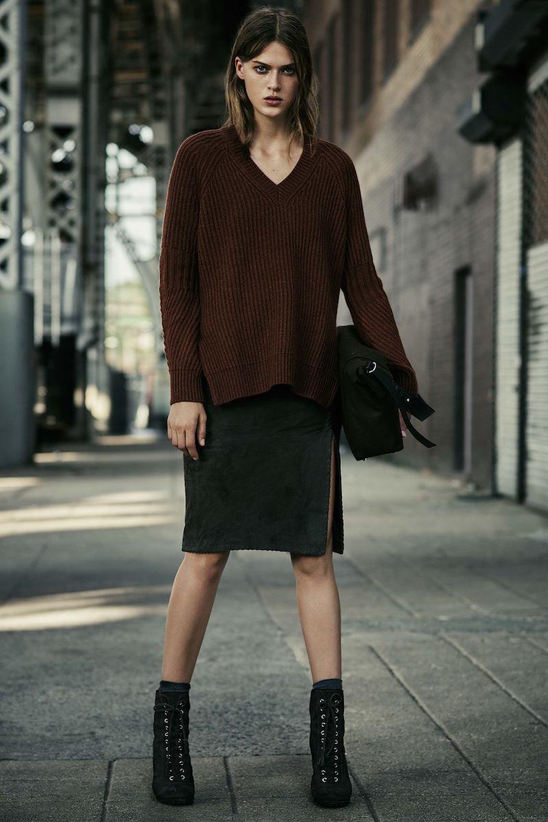 AllSaints Laced Levitt Skirt