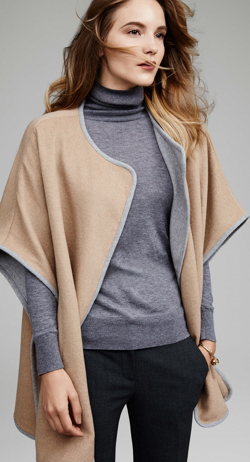 Ann Taylor City Cape