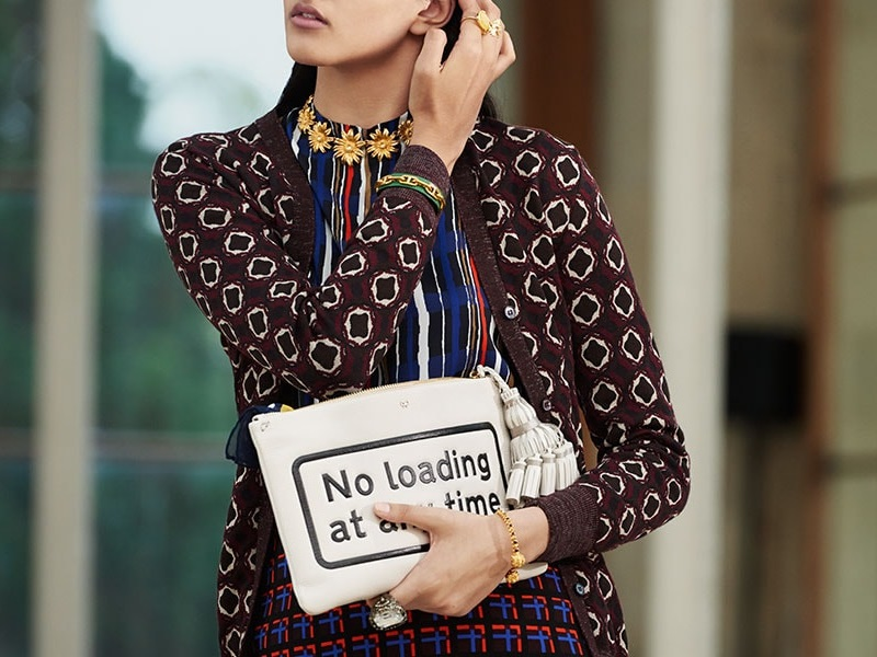 Anya Hindmarch Park and Ride Georgiana clutch
