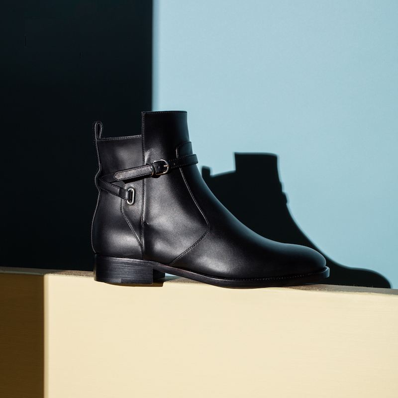 Balenciaga Calfskin Leather Boots