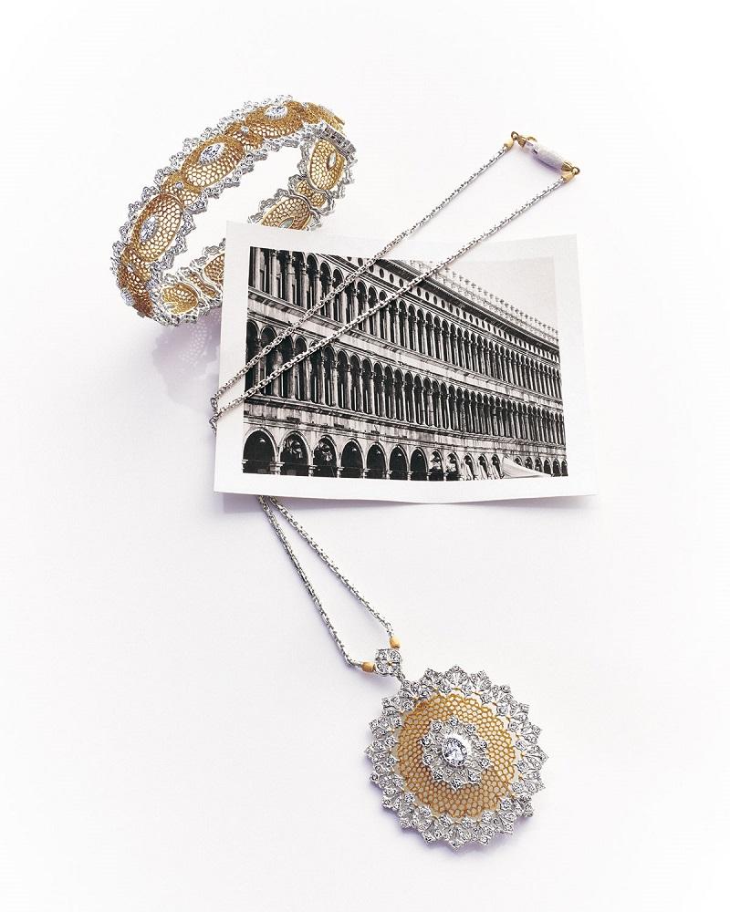 Buccellati Tulle Filigree Diamond Bracelet