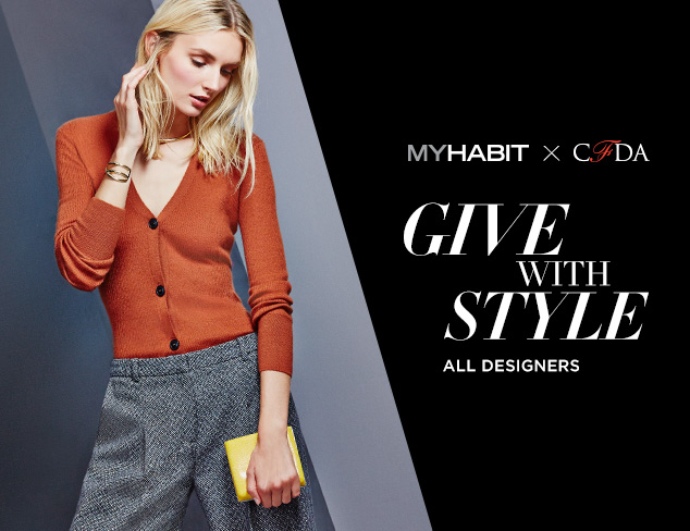 CFDA x MyHabit Give With Style at MYHABIT