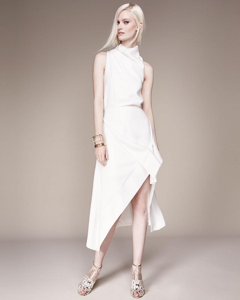 Cameo Don't Wait Asymmetric Skirt