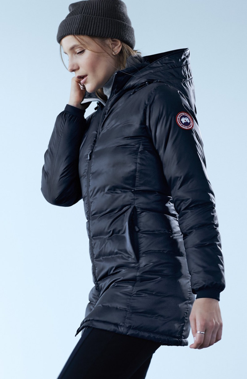 Canada Goose Camp Slim Fit Hooded Packable Down Jacket