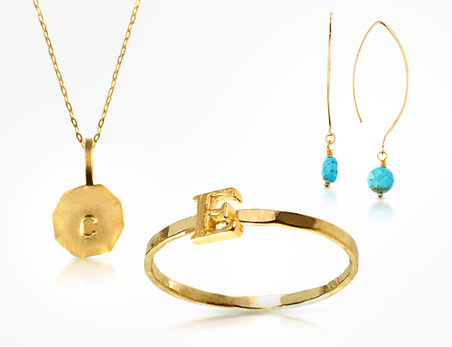 Charlene K Initial Jewelry & More at MYHABIT