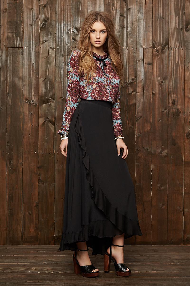 Cleobella Inka Maxi Skirt