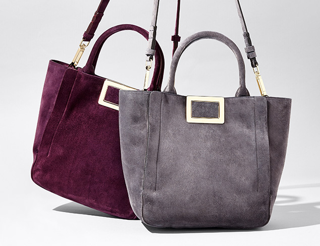 Designer Bags feat. Roger Vivier at MYHABIT