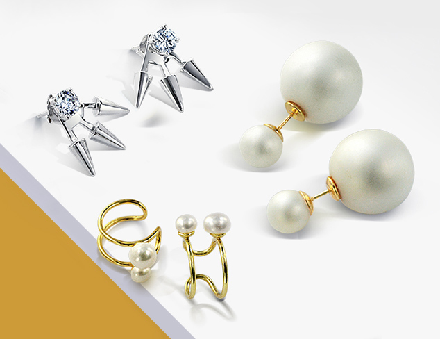 Earring Trends Cuffs, Ear Jackets & More at MYHABIT