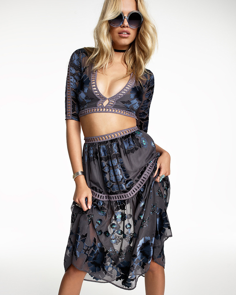 For Love & Lemons SU2C x REVOLVE Barcelona Crop Top