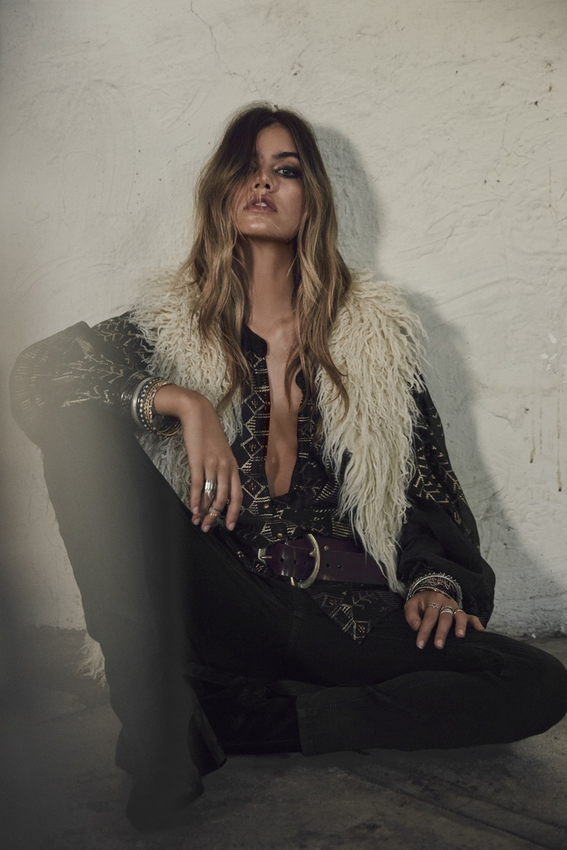 Free People Kick It In Reverse Fur Vest