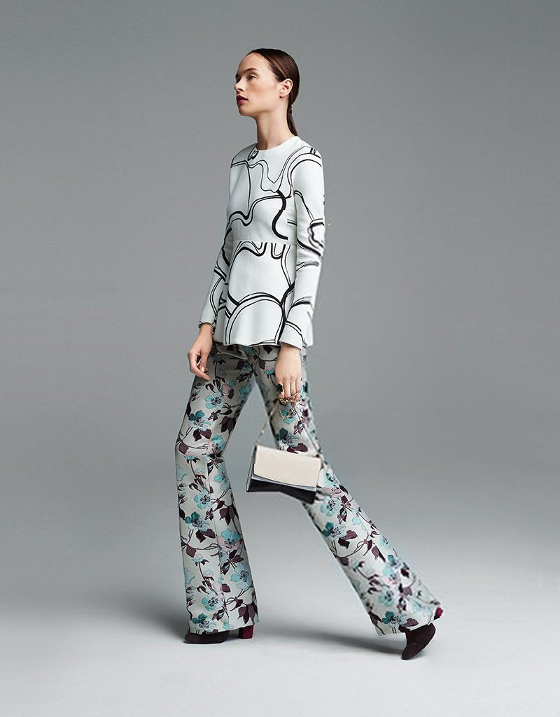 Giambattista Valli Long Sleeve Tunic