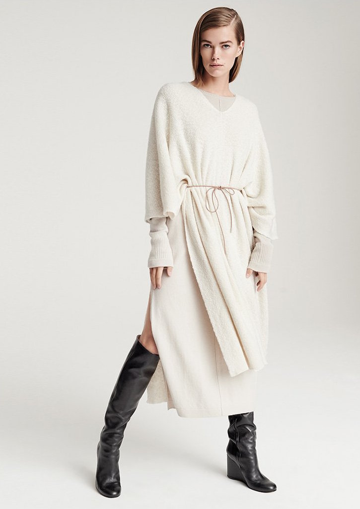 Helmut Lang Cashmere Poncho