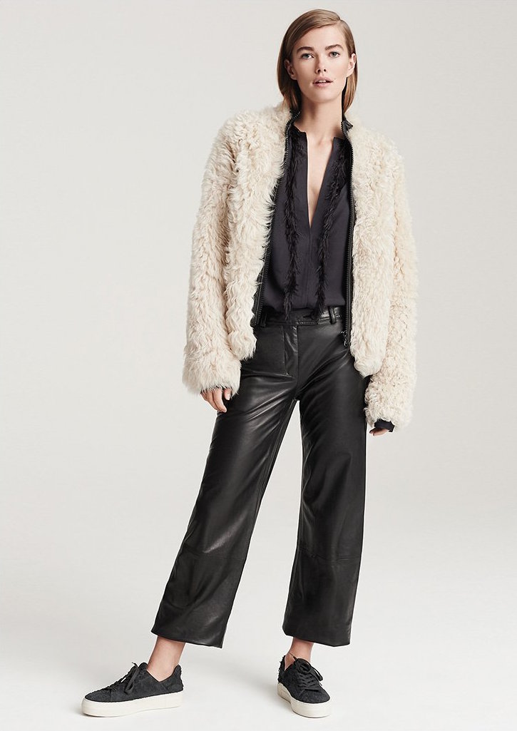 Helmut Lang Fur Jacket