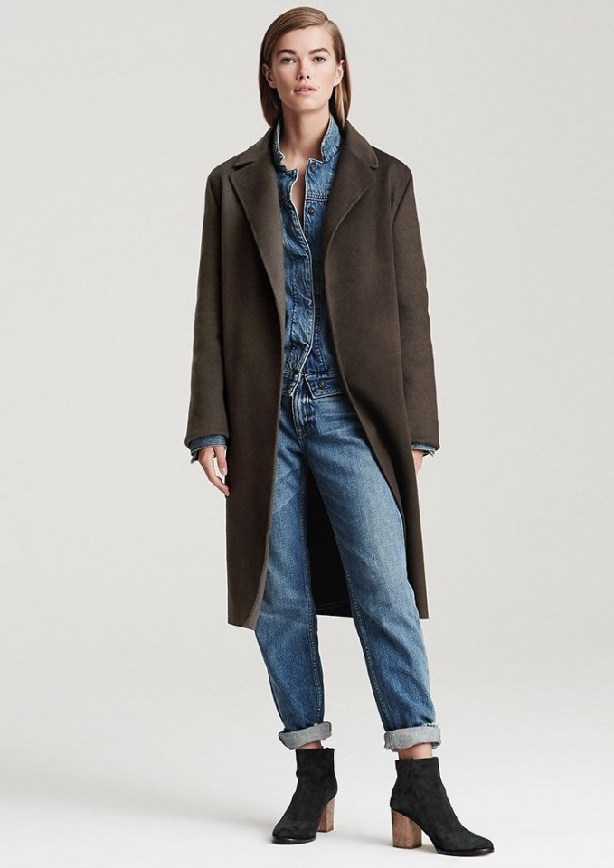 Helmut Lang Long Coat