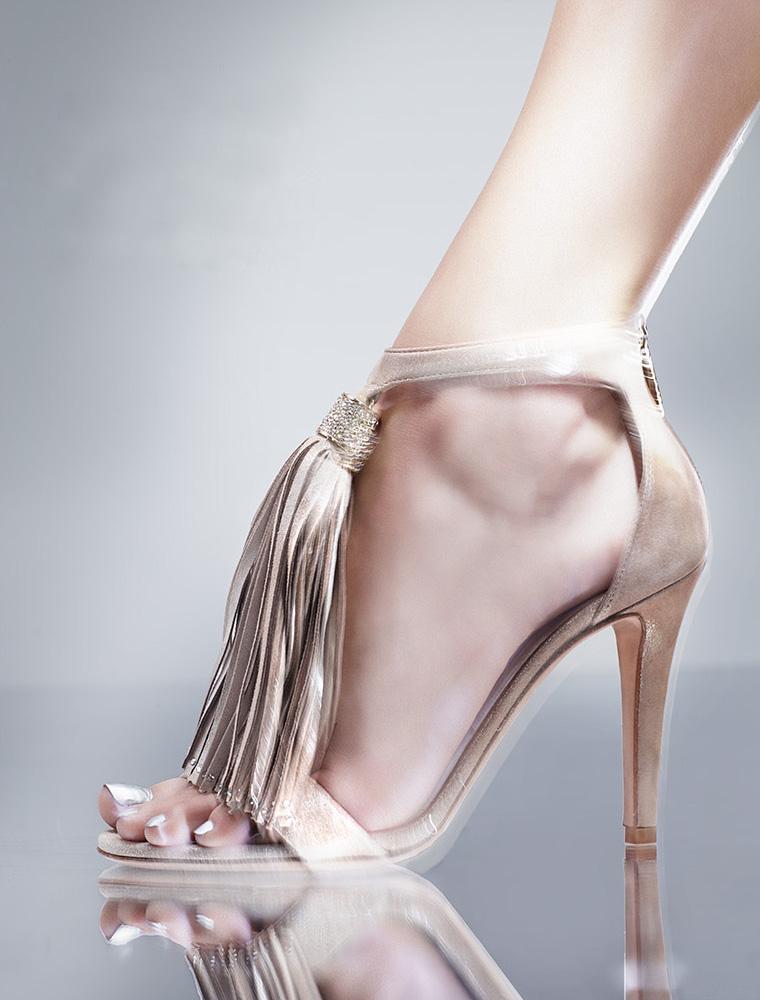 Jimmy Choo Viola Ankle Strap Sandal