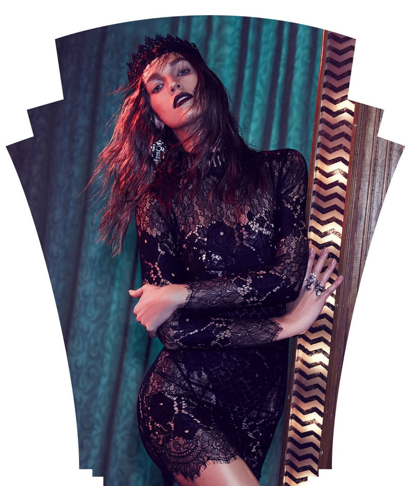 Laced on a True Story Sheer Dress