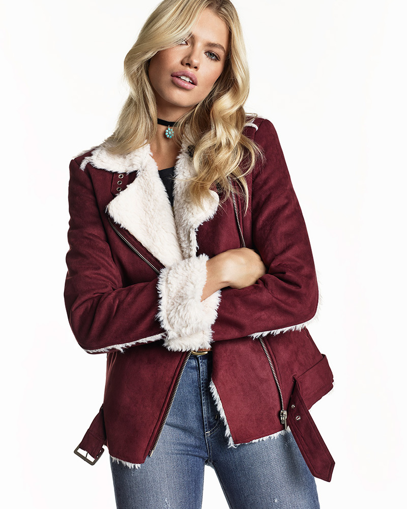 MINKPINK SU2C x REVOLVE Under Control Aviator Faux Fur Jacket