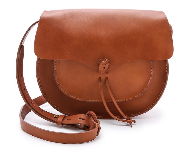 Madewell Woven Flap Saddle Bag