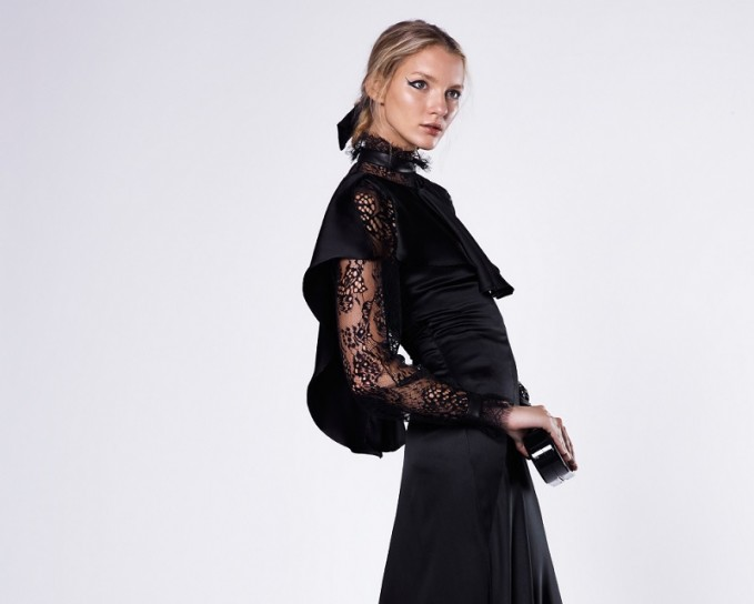 Maison Margiela Double Silk Satin Gown