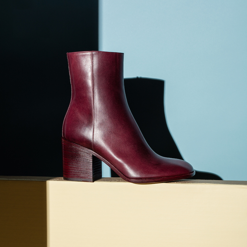 Maison Margiela Waxed Leather Booties