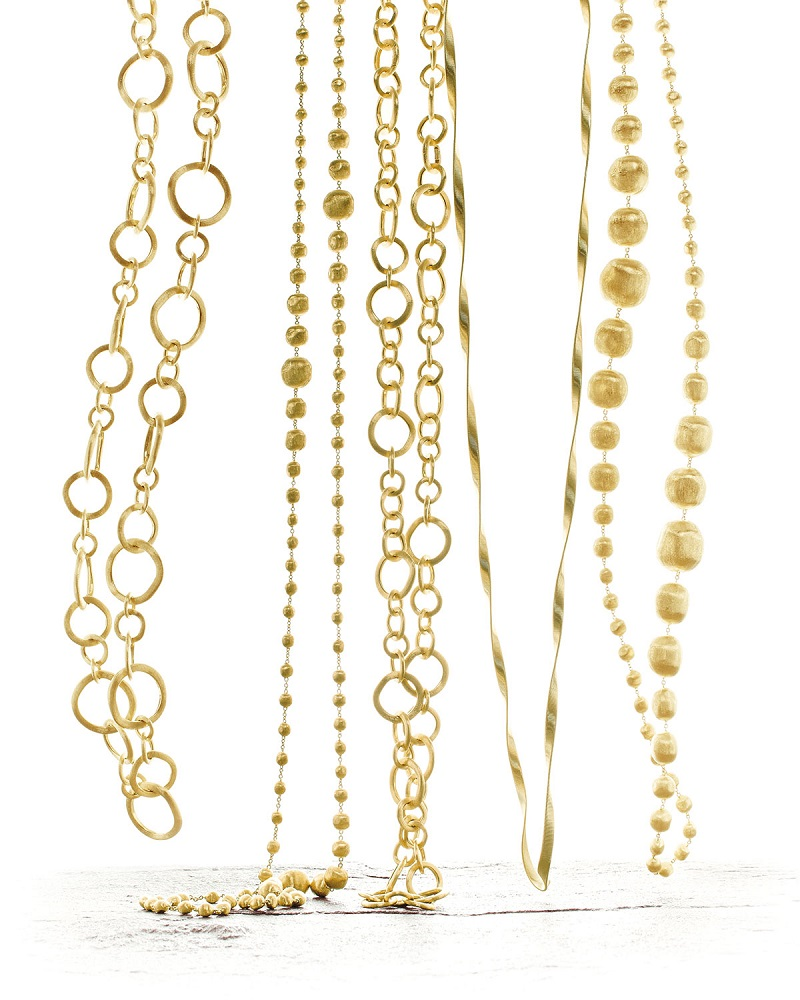 Marco Bicego Assorted 18k Gold Necklaces