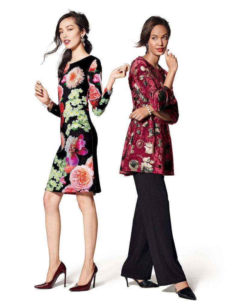 Melissa Masse Photogarden-Print Sheath Dress