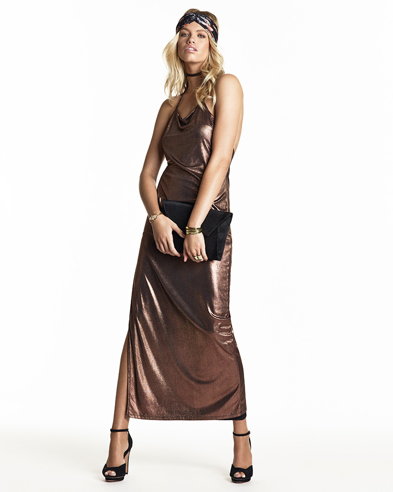NBD SU2C x REVOLVE Dancin Queen Maxi Dress